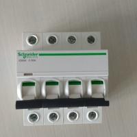 施耐德小微断 Acti9系列 iC65N 4P C63A A9F18463 分断能力:6KA 电流:63A 4P C型