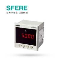 江苏斯菲尔 数码管显示 单相交流电流表 PA194I-9X1  AC1A