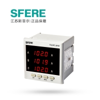 江阴斯菲尔(SFERE) 96型 单相显示 交流电流表 PA194I-9K1  AC1A