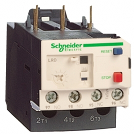 施耐德热过载继电器 LRD01C