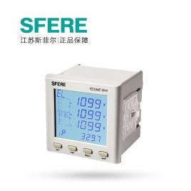 江苏斯菲尔(SFERE) 多功能电能表 LCD显示 PD194E-9HY AC380V 1A-3P4W