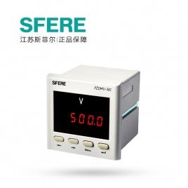 斯菲尔电气 LED 数显单相电压 多功能表 PZ194U-3K1 AC100V