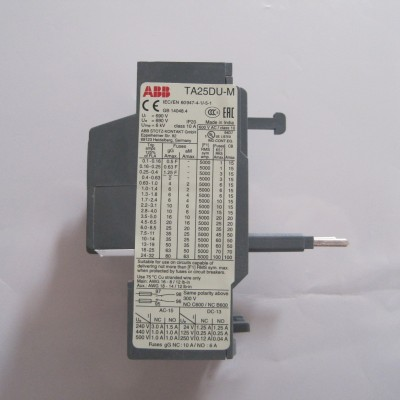 ABB热过载继电器TA25DU-4.0M